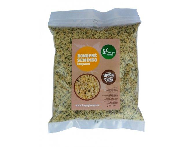 HappyHemp Konopné semínko loupané 1kg