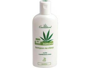 Cannaderm Natura šampon na suché vlasy 200ml
